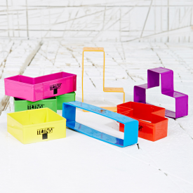 Tetris Set of 6 Cookie Cutters