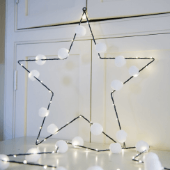 Pom Pom LED Star Light