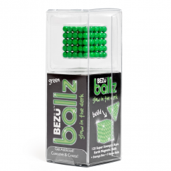 BezuBallz, 125 Glow in the Dark Green Balls