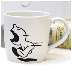 Mr P, D Dog Fight Back Mug