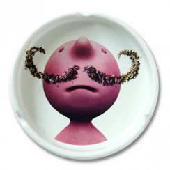 Mr P Moustache Ashtray