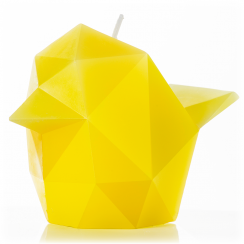 Bibi Yellow Skeleton Candle