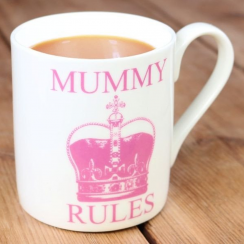 Mummy Rules Crown Mug