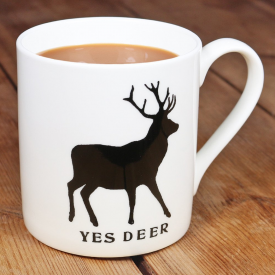 Yes Deer, No Deer Mug