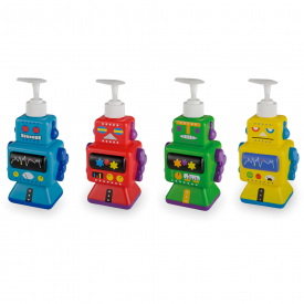 Robot Soap Dispenser in Assorted Designs