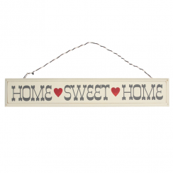 Rustic Wooden Home Sweet Home Sign
