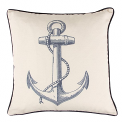 Anchor Vintage Sea Cushion