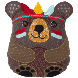 Andy Bear Tribal Adventure Cushion