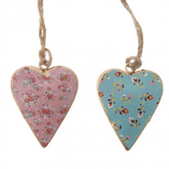 Audrey Assorted Mini Hanging Heart