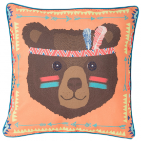 Bear Tribal Adventure Cushion