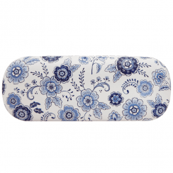 Blue Willow Floral Glasses Case