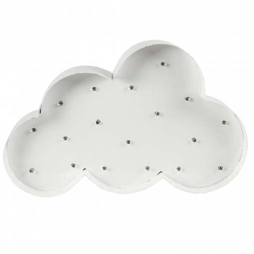 Cloud Light Up LED Wall Decoration