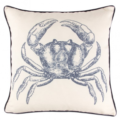 Crab Vintage Sea Cushion