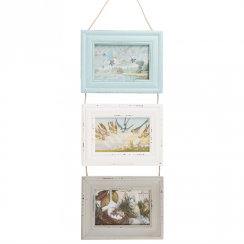 Delilah Triple Photo Frame
