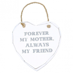 Forever My Mother, Heart Plaque