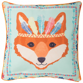 Fox Tribal Adventure Cushion