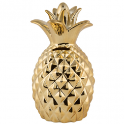 Gold Pineapple Money Box