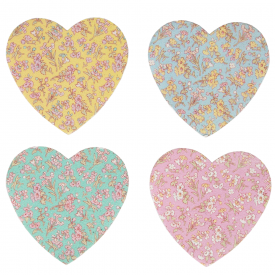 Grace Floral Heart Nail File