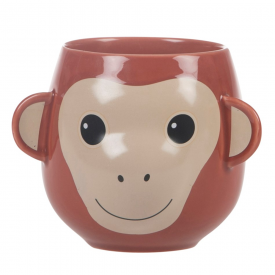 Happy Adorable Monkey Mug