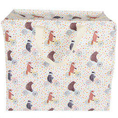 Happy Animals on Bikes Storage Bag