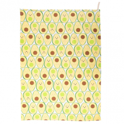 Happy Avocado Tea Towel