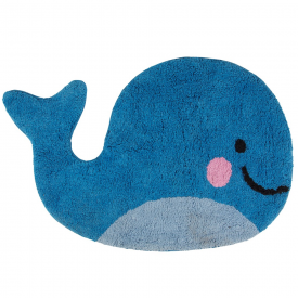 Happy Blue Whale Rug