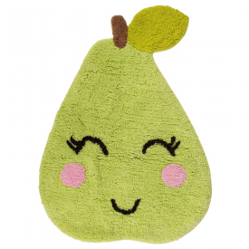 Happy Poppy Pear Rug