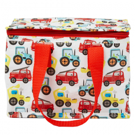 Illustrated Trucks Lunch Bag