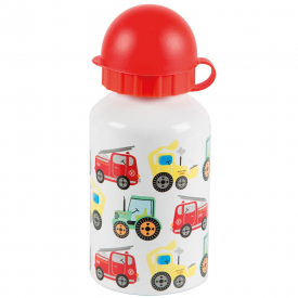 Illustrated Trucks Water Bottle