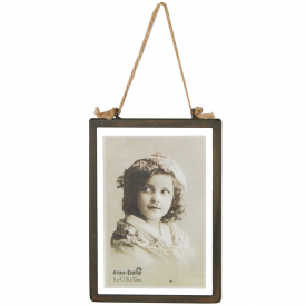 Industrial Finish Rectangular Hanging Photo Frame