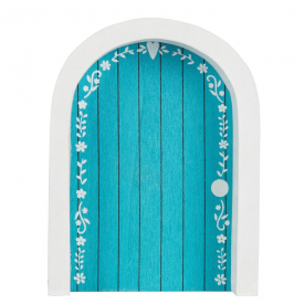 Magical Fairy Door in Blue