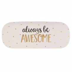 Metallic Monochrome Awesome Glasses Case