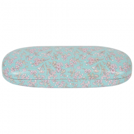 Mint Grace Floral Glasses Case
