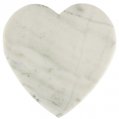 Modern Artisan Marble Heart Chopping Board