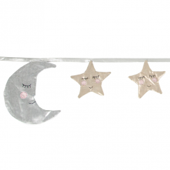 Moon & Stars Sleep Tight Bunting