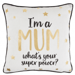 Mum Star Superpower Cushion