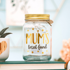 Mum's Treat Fund Money Jar