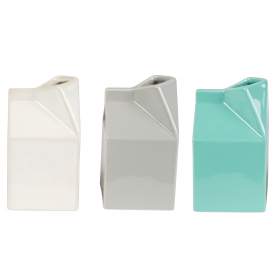 Muted Pastel Milk Carton Jug Assorted