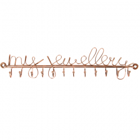 My Jewellery Hooks Copper, Row of 12
