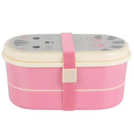 Nori Cat Kawaii Friends Bento Box