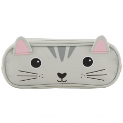 Nori Cat Kawaii Friends Pencil Case