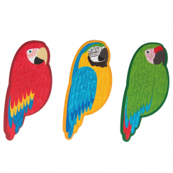 Parrot Set of 3 Nail Files