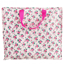 Petite Rose Storage Bag in Fuchsia