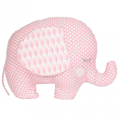 Pink Ella Elephant Cushion
