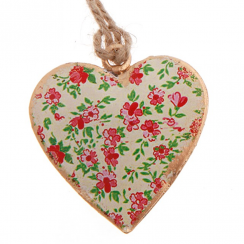 Poppy Mini Assorted Hanging Heart