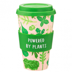 Powered By Plants Bamboo Coffee Cup