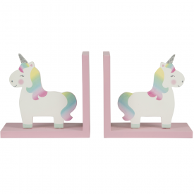 Rainbow Unicorn Cute Bookends