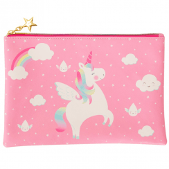 Rainbow Unicorn Pink Pouch
