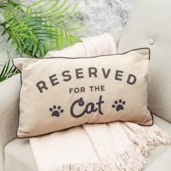 Reserved For the Cat Cushion, New Design