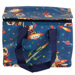 Retro Space Lunch Bag
